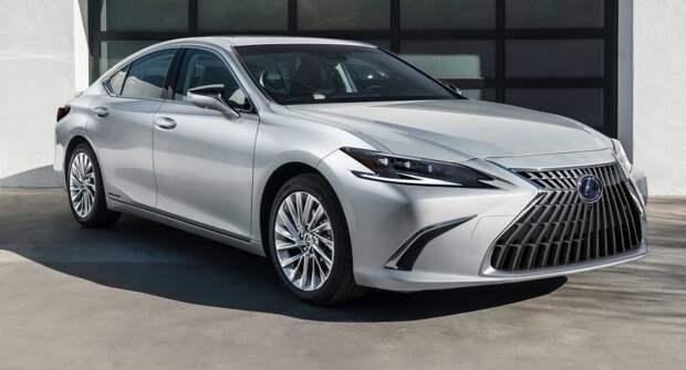 Представлен Lexus ES 2022 модельного года