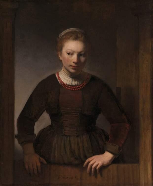 Предположительно портрет Гертье Дикс. / Фото: blogspot.com.