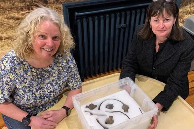 Британка с металлоискателем нашла золото викингов