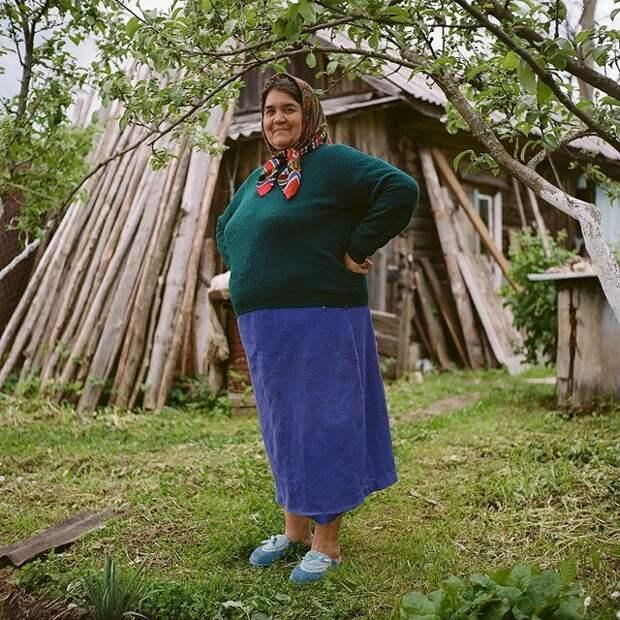 Тамара, мать шестерых детей Изборск, варвара лозенко, русская деревня, фотография