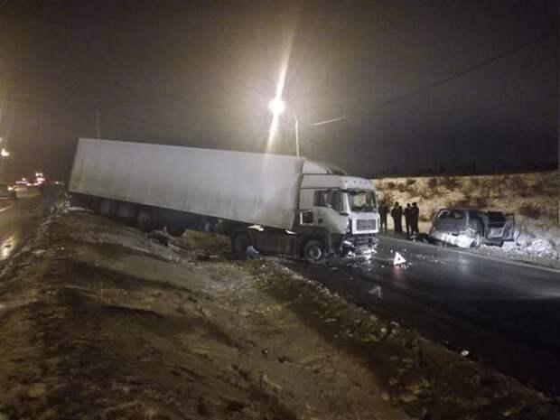 Авария со смертельных исходом на трассе М-5