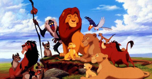 Про львиный чих, корону и ворону. Басня.