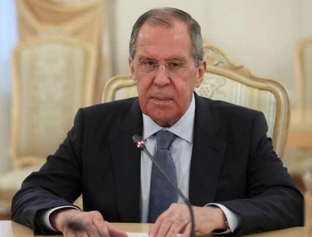 Лавров объявил об ответных санкциях против руководящих структур Германии и Франции