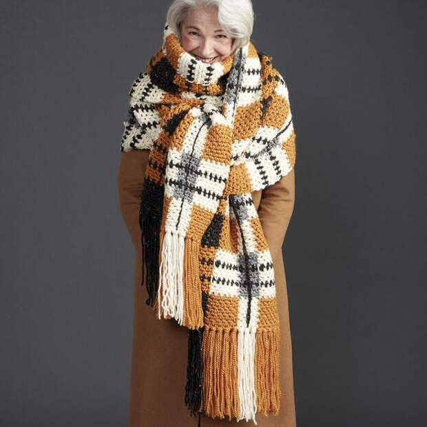 Вязаные шарфы. Грани разумного. Фото для ваших идей