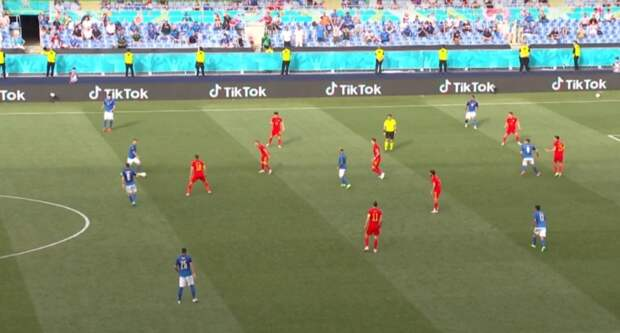 Сборная Италии обыграла валлийцев и вышла в плей-офф Евро-2020 без поражений