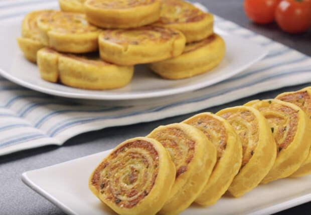 Завернули картошку в тесто и нарезали вкуснейшие рулетики