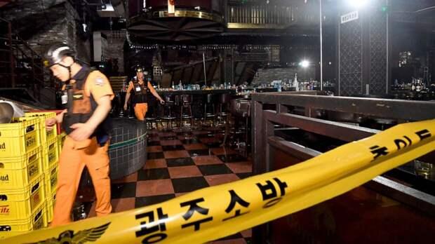 Трагедия в Кванджу: местные жители и участники ЧМ пострадали при обрушении балкона ночного клуба