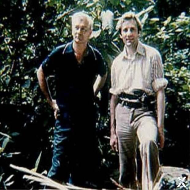 Мориц и Стенли Холл в 1973 году