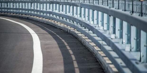 Бочкарев: Монтаж балок пролетных строений трех мостов завершен на участке Северо-Восточной хорды
