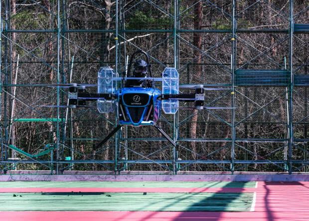 Японцы завершили первый этап испытаний летающего автомобиля SkyDrive