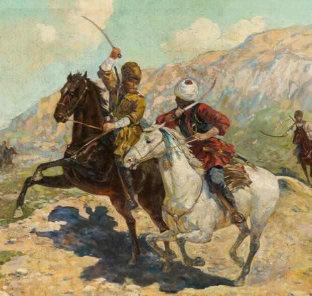 Почему русская кавалерия проигрывала кавказской в поединке?