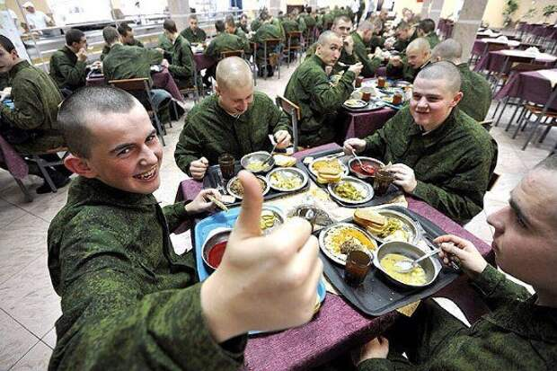 Солдаты любят поесть от пуза, или Как Минобороны РФ сократило расходы на обеспечение ВС РФ