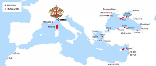 Как итальянцы управляли Крымом, что из этого вышло