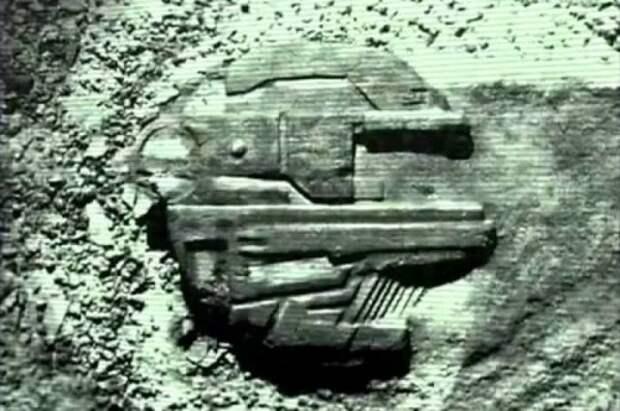 Невероятная тайна инопланетного космического корабля