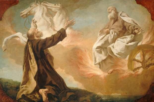 Куда вознесся Илия: на Небеса, на небо или... Остался на земле