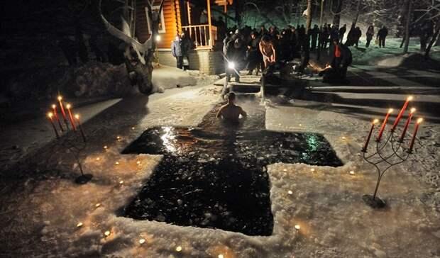 В Оренбуржье на Крещение отменены массовые купания в проруби