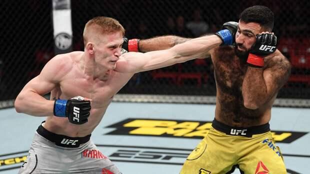 Боец UFC Хандожко выразил желание подраться с экс-чемпионом организации Кондитом