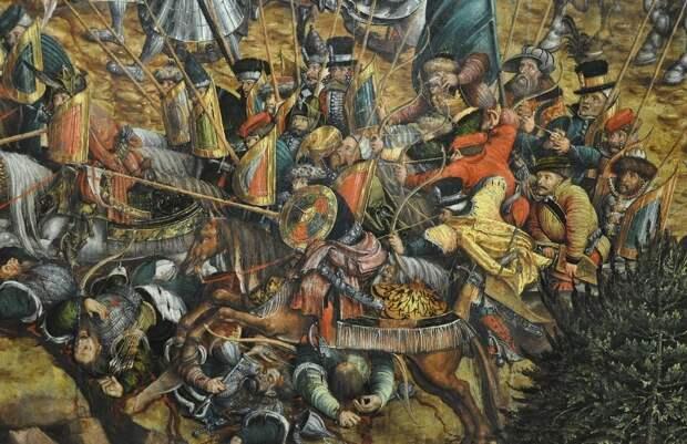 Шляхетское ополчение ВКЛ на картине неизвестного художника «Битва при Орше», 1530-е годы - Шляхта Великого княжества   Военно-исторический портал Warspot.ru
