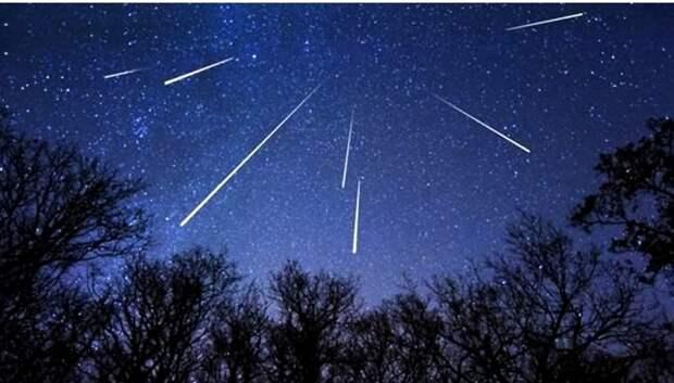 Жители Московского региона смогут увидеть звездопад в предрассветные часы