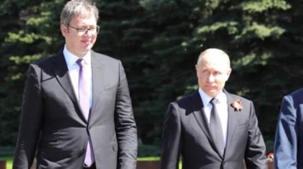 Посол выдал подробности договоренности Путина и Вучича