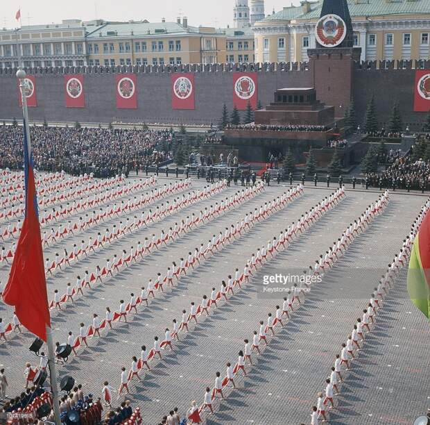 Первомай в СССР, как это было.