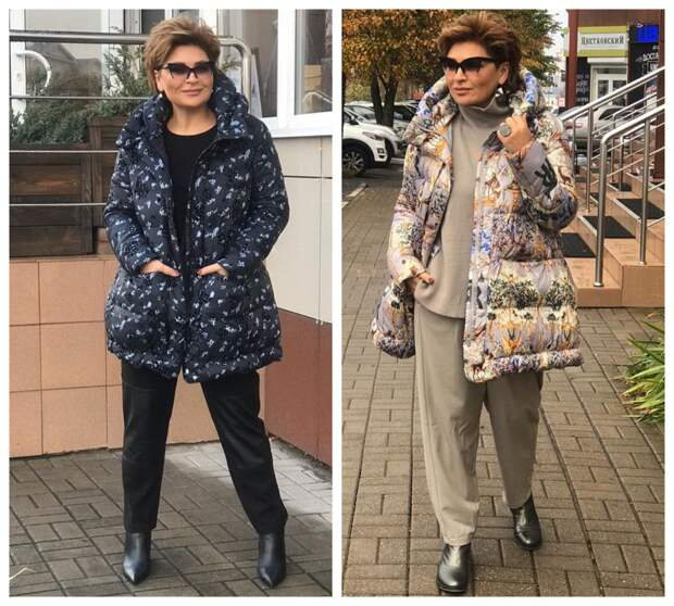 Фото 4, 5 - осенние куртки. Стилист Ирина Конарева.