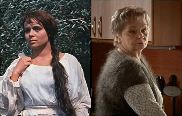 Советская, российская актриса наиболее известную роль сыграла в фильме «Свадьба в Малиновке».