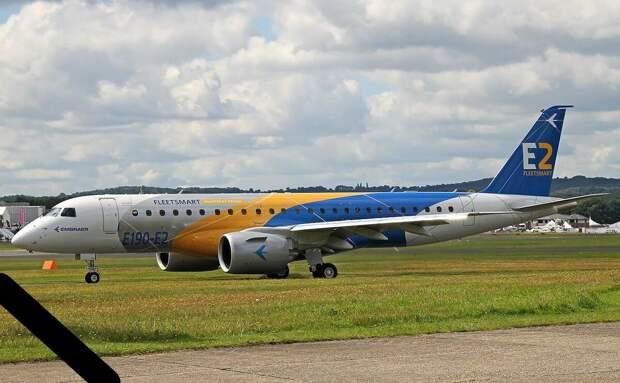 Embraer E-175 E2 . Источник - википедия.