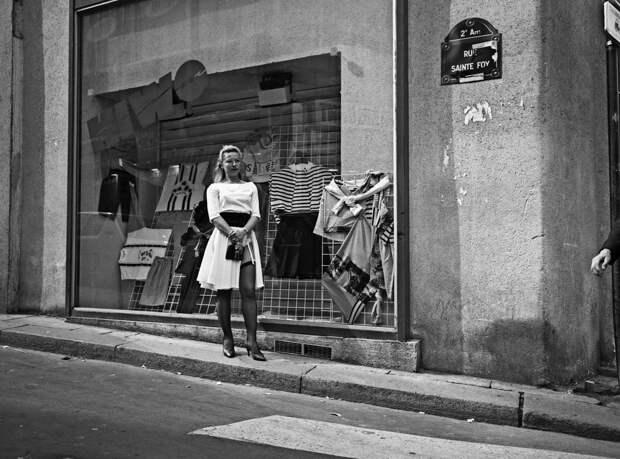Труженицы секс-индустрии с улицы Сен-Дени. Фотограф Массимо Сормонта 48