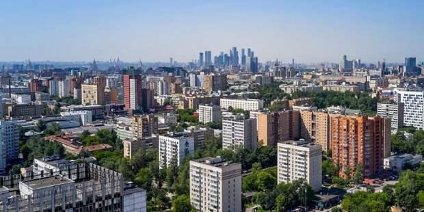 Собянин рассказал о развитии крупных городских проектов во время пандемии Фото: М. Денисов mos.ru