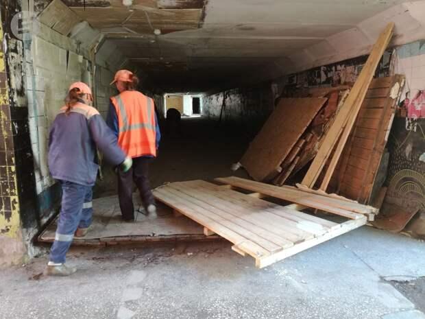 Три подземных перехода Ижевска планируют привести в порядок в 2020 году