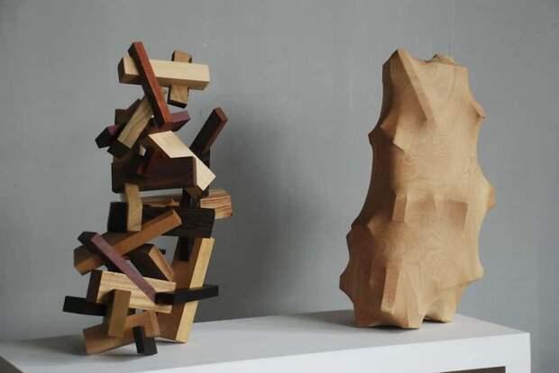 8 фото удивительных деревянных скульптур, которые передают человеческие эмоции