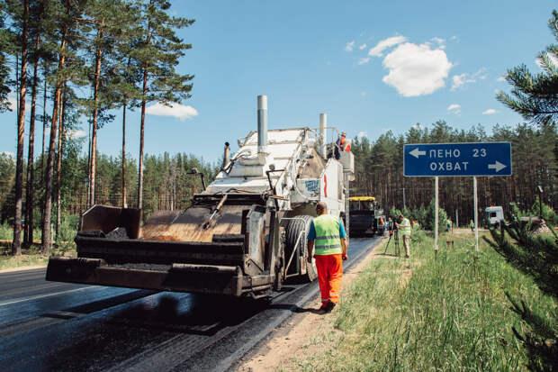 Годовой план Тверской области по региональным дорогам выполнен на 90 процентов