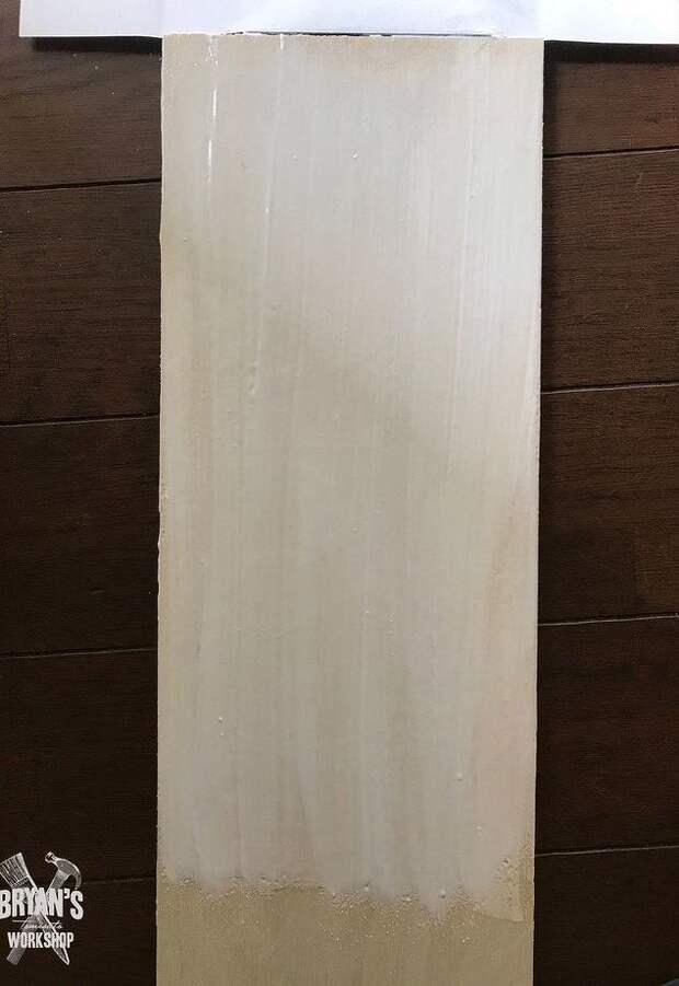 Необычная идея дизайна стен: деревянная плитка с рисунком