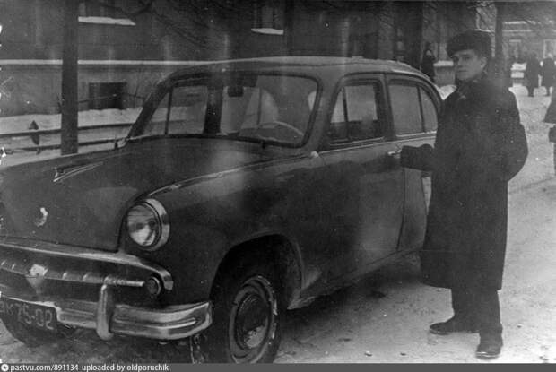 Фото дня: город Бабушкин в 1960 году