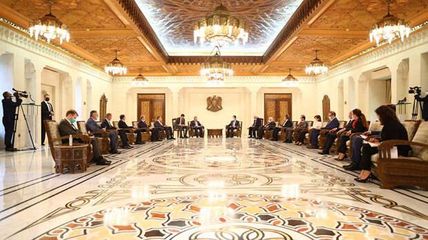 Россия и Сирия обсудили восстановление энергетической инфраструктуры