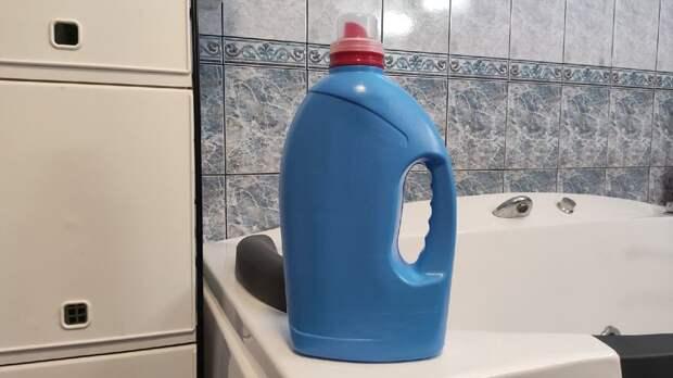 Творческий человек способен чудесно переработать даже бутылку от геля для стирки