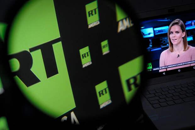Латвия впервые заблокировала сайт телеканала RT