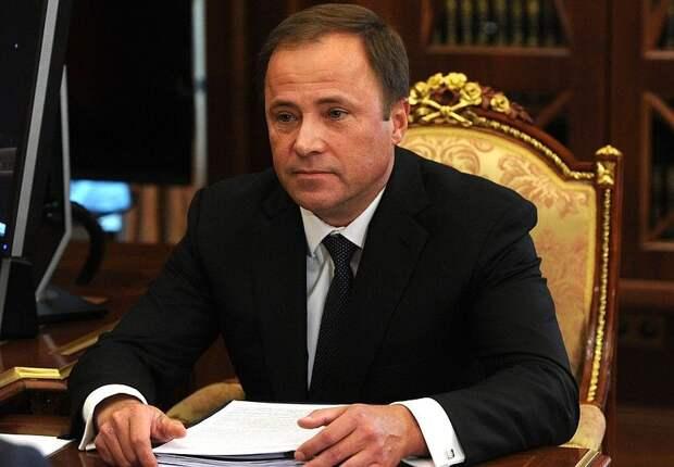 Полпред президента России в ПФО Игорь Комаров прибудет в Удмуртию 12 апреля