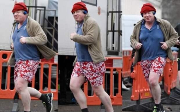 Главу МИД Британии застали на улице в нелепом наряде (ФОТО)