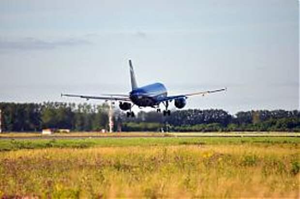 Аэрофлот Боинг-737 Большое Савино ВПП|Фото:Евгений Хлуднев