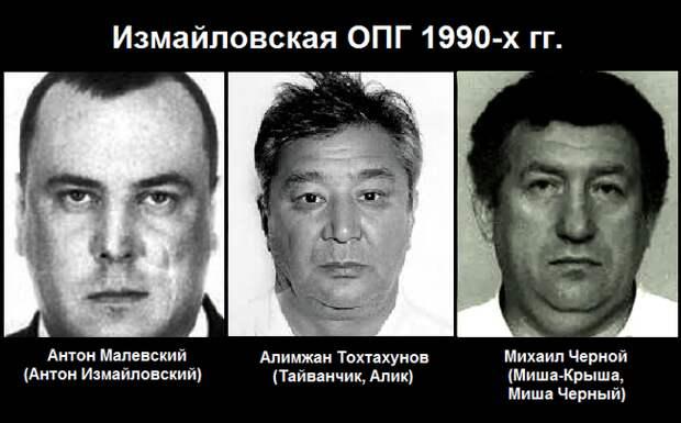 """""""Измайловские"""" бандиты, беспредел 90-х"""