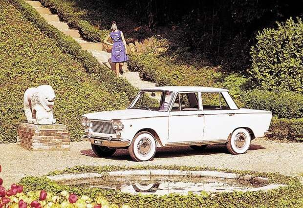 FIAT 1300 (1961-1966) считается непосредственным предшественником 124-го fiat, fiat 124, авто, автоистория, автомобили, ваз, ваз 2101, жигули