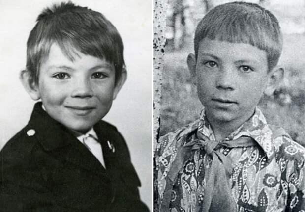 Андрей Федорцов в детстве | Фото: kino-teatr.ru, starhit.ru