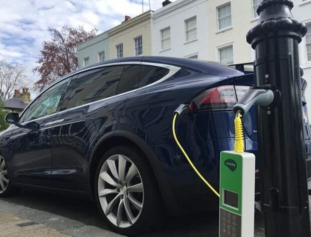 Зарядка электромобиль Россия