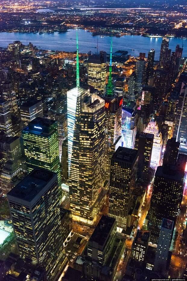 Нью-Йорк свысоты птичьего полета