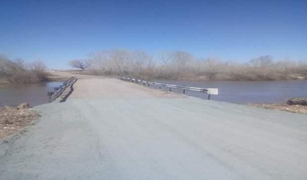 Еще 6 низководных мостов в Оренбуржье вновь открыты для движения транспорта