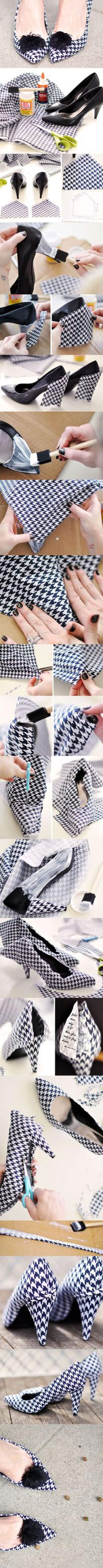 Красивые идеи переделки обуви: просто, стильно и со вкусом