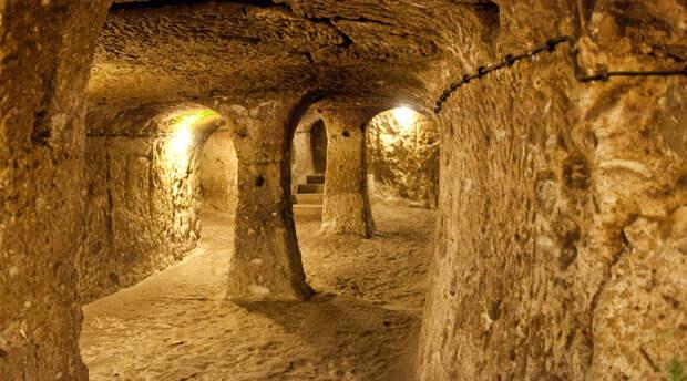 Секреты таинственных подземных городов