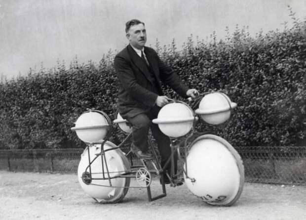 Водный велосипед 1932 года